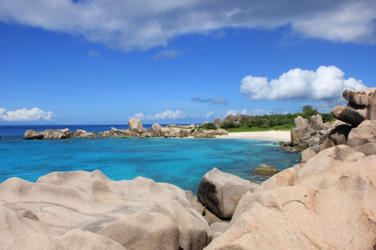 En allant vers Anse Marron - La Digue
