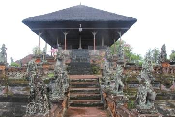à Klungkung visite du Palis et de l'ancienne Cour de Justice