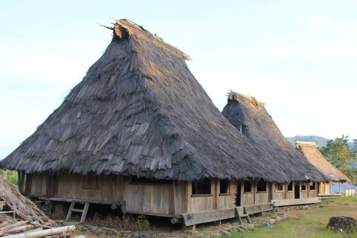 Village ethnique à Florès