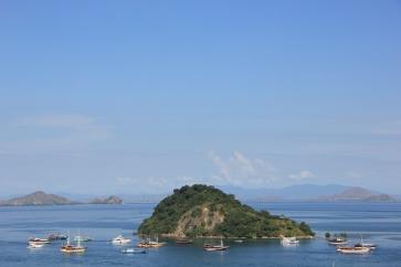 Vue sur le port de Labuhan Bajo - Florès