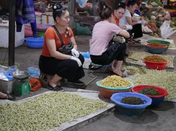 Marché à Nghai Lo