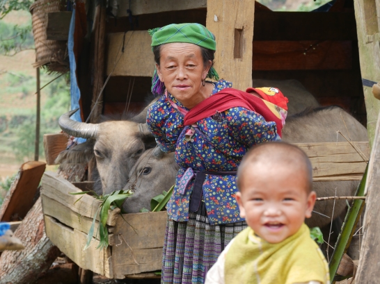 Randonnée La Pan Tan/Mam Xoi/Cau Ba Nha avec les Mhongs
