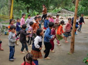 Visite d'une école