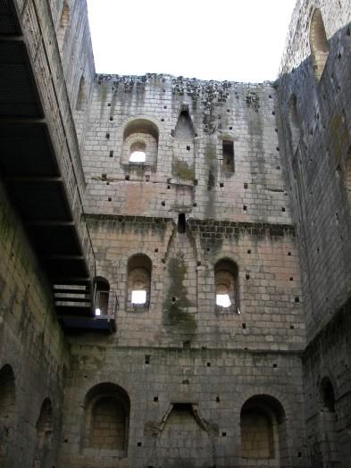 A l'intérieur du Donjon