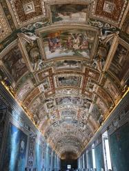Dans le Musée du Vatican