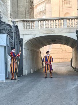 La Garde Suisse pontificale