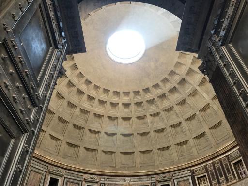 Le Dôme ouvert du Panthéon